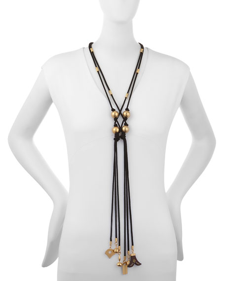 Janis Braided Tie Necklace