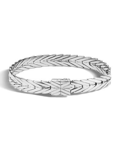 Modern Chain Small Rectangle Bracelet