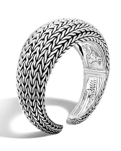 Classic Chain Medium Kick Cuff Bracelet