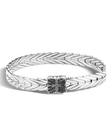 John Hardy Modern Chain Silver Lava 8mm Bracelet