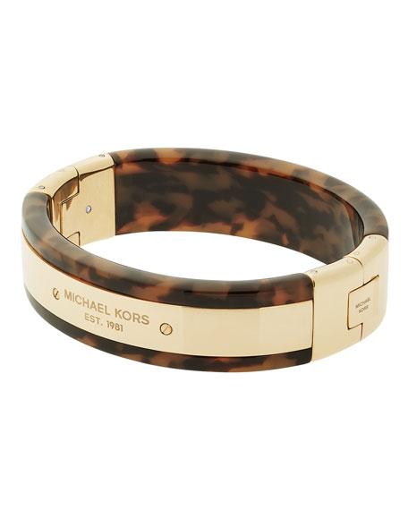 Michael Kors Tortoiseshell Logo Bracelet