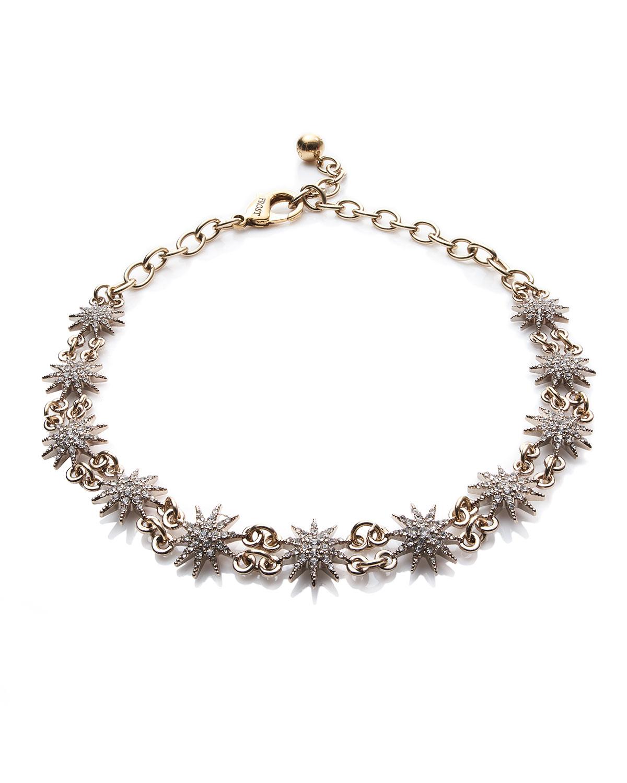 Fallon Scalloped Crystal Lace Choker Necklace dL9QzCohsJ