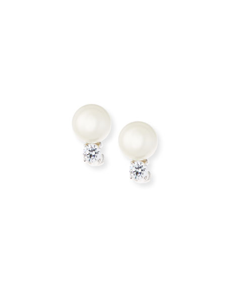 Fantasia by DeSerio 10mm Pearly Bead & Crystal