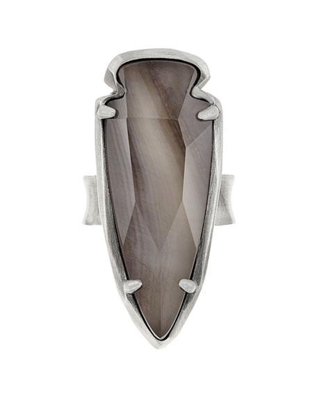Kendra Scott Kenny Arrowhead Ring, Gray
