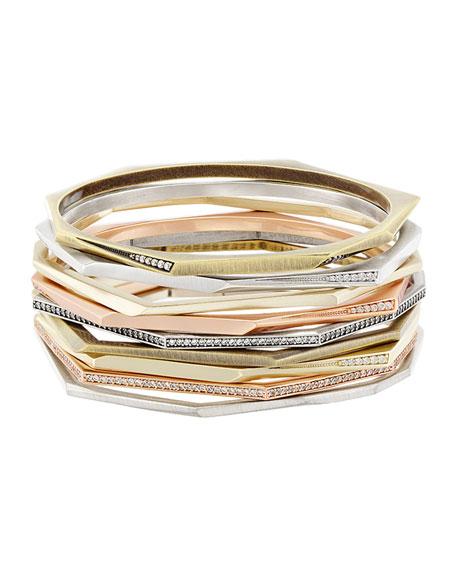 Aubrey Stacking Bracelet, Set of 9