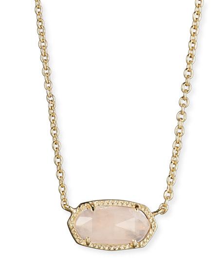 Kendra scott elisa rose quartz necklace aloadofball Images