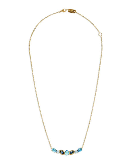 Ippolita 18K Rock Candy Sculpted Crescent Necklace in
