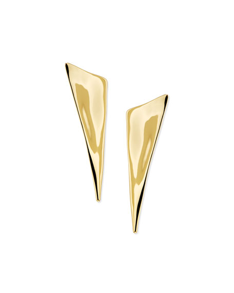 Alexis Bittar Angled Pyramid Earrings