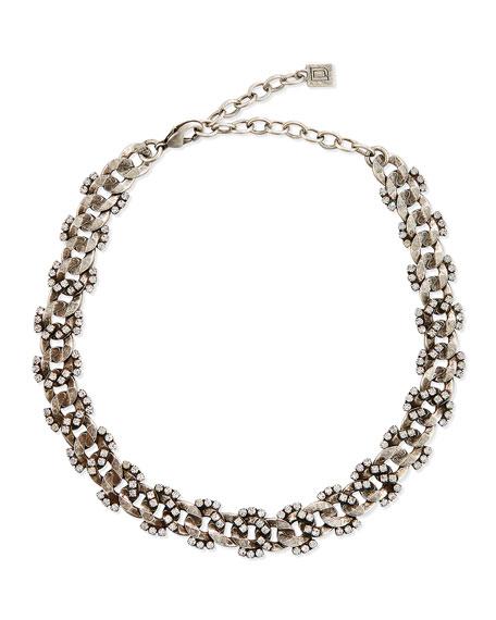 Dannijo Selena Crystal Choker Necklace