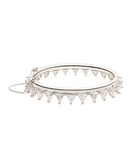 Eddie Borgo Orion Crystal Bangle Bracelet