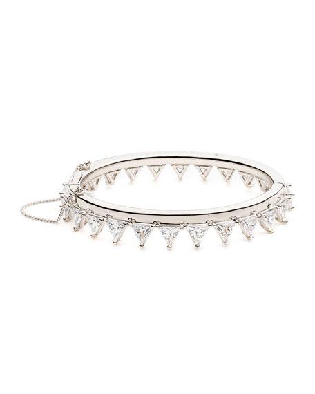 Eddie Borgo Orion Crystal Bangle Bracelet