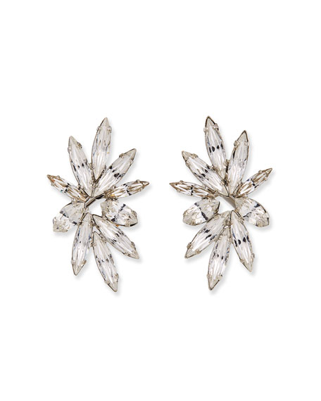 Auden Harper Crystal Clip-On Earrings