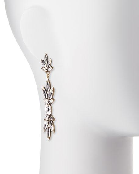 Emma Crystal Drop Earrings