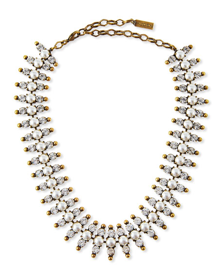 Auden Holloway Pearly Bead Necklace