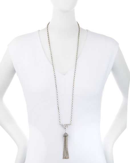 Proxima Long Tassel Necklace