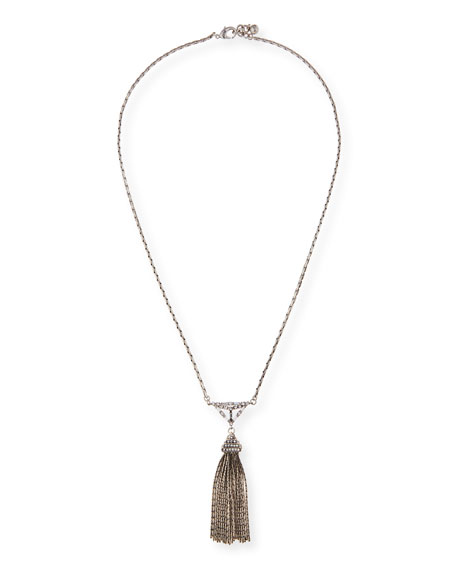 Lulu Frost Proxima Long Tassel Necklace
