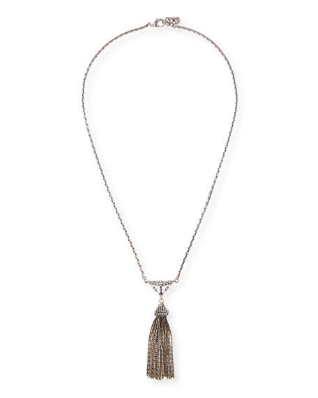 Lulu Frost Proxima Long Tassel Necklace