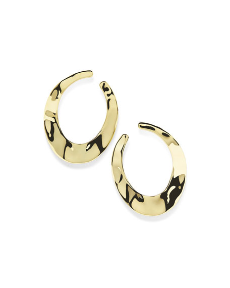 Ippolita 18K Senso??? Open Hoop Earrings