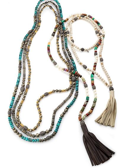 Hipchik Ava Pyrite & Golden Nugget Necklace dnqz8t5i8m