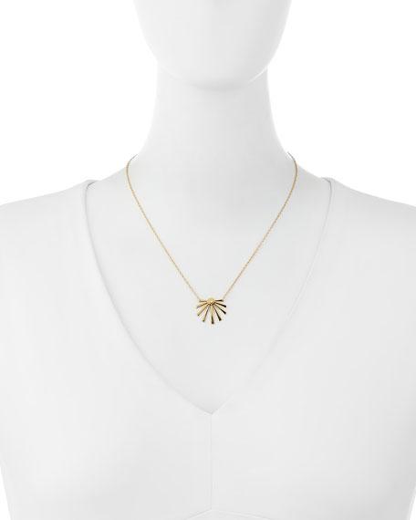Cali Sunburst Pendant Necklace