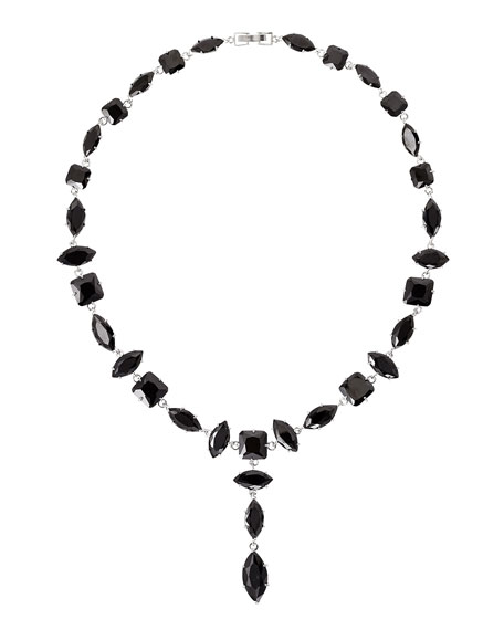 Fallon Marquis Crystal Y-Drop Necklace