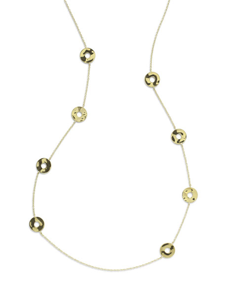 Ippolita 18K Senso&#153 Disc Station Necklace, 37