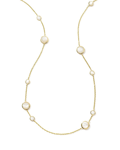 Ippolita 18K Rock Candy Lollipop Necklace in Mother-of-Pearl,