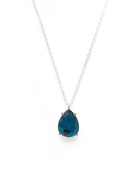 Ippolita 925 Rock Candy Wonderland Pear Pendant Necklace
