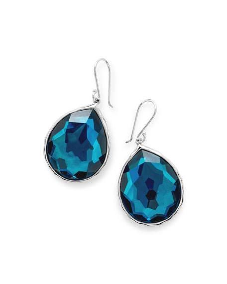 925 Rock Candy Wonderland Teardrop Earrings in Frost
