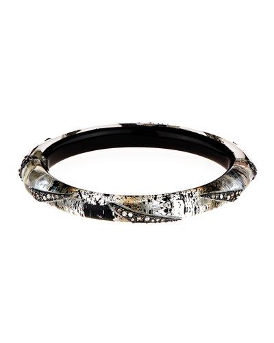 Crystal Origami Hinge Bracelet