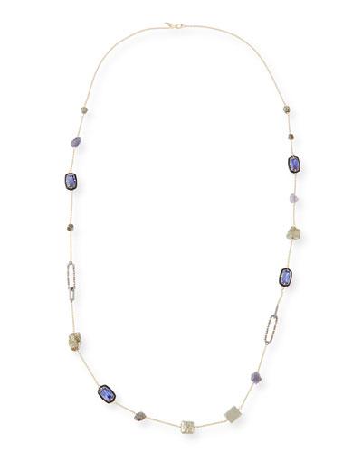Crystal Link Station Necklace