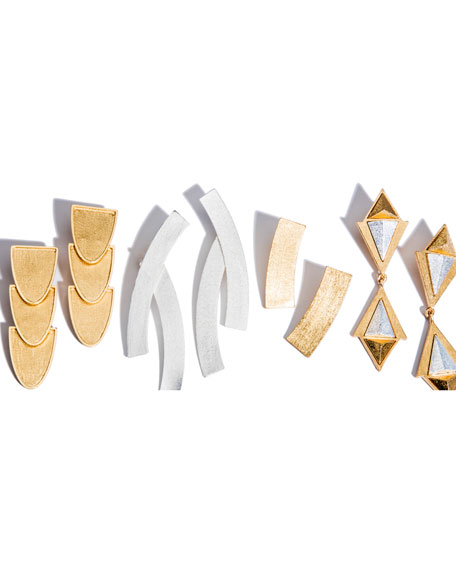 Stephanie Kantis Heraldry Convoy Double-Drop Earrings