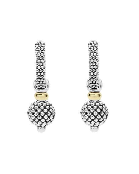 Caviar Small Hoop Earrings
