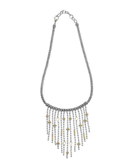 Caviar Icon Multi-Strand Necklace