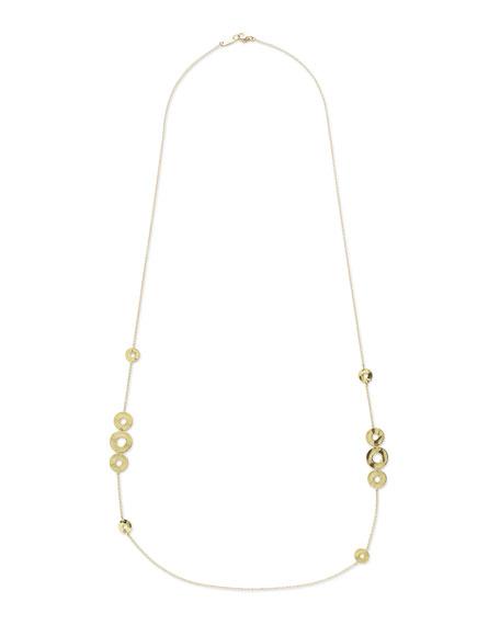 18K Senso™ Disc Station Necklace
