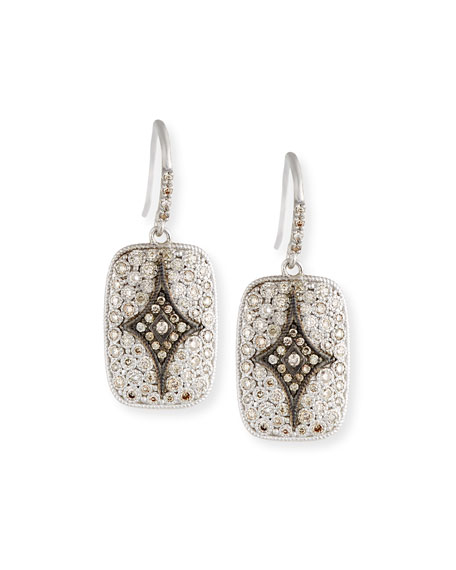 New World Crivelli Drop Earrings with Diamonds