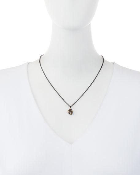 Armenta Old World Diamond Bean Necklace