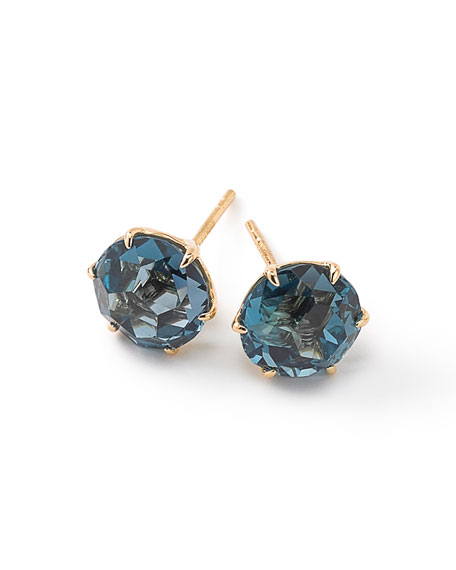 Ippolita 18k Rock Candy Medium Round Stud Earrings