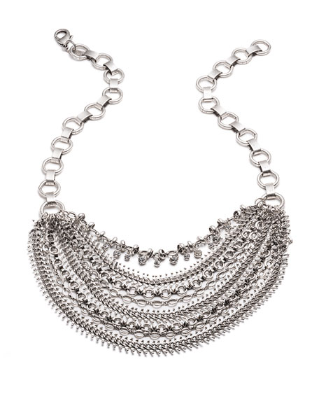 Dannijo Ursula Crystal Statement Necklace