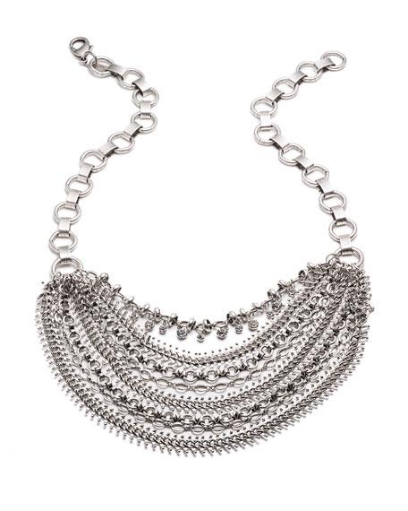 Ursula Crystal Statement Necklace