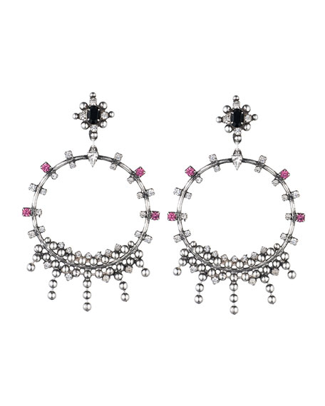 Dannijo Lauren Crystal Statement Earrings