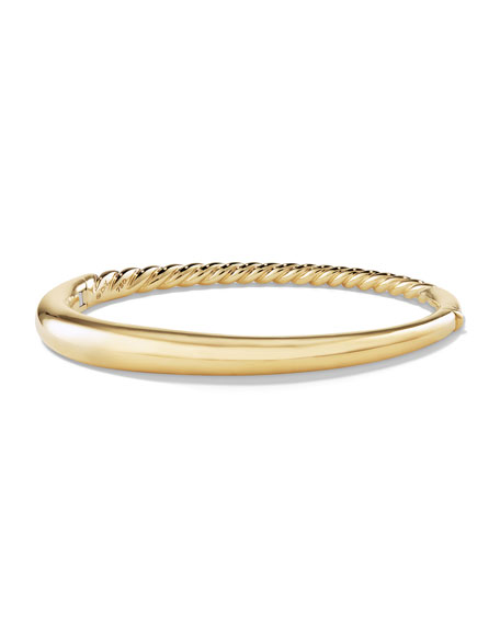 David Yurman 6.5mm Small Pure Form Hinge Bracelet