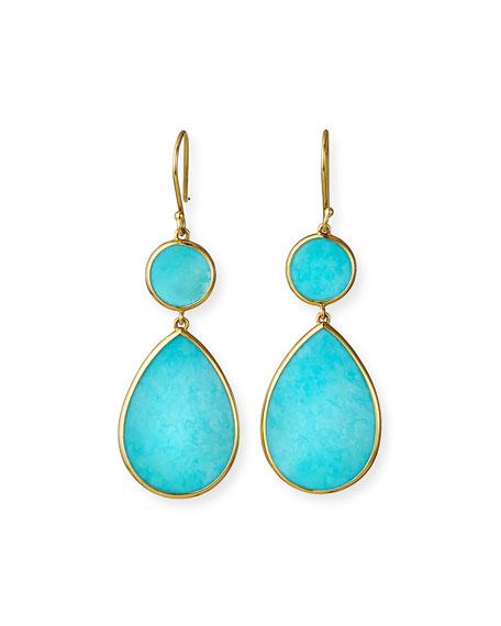 Ippolita 18K Polished Rock Candy Drop Earrings TdPhel