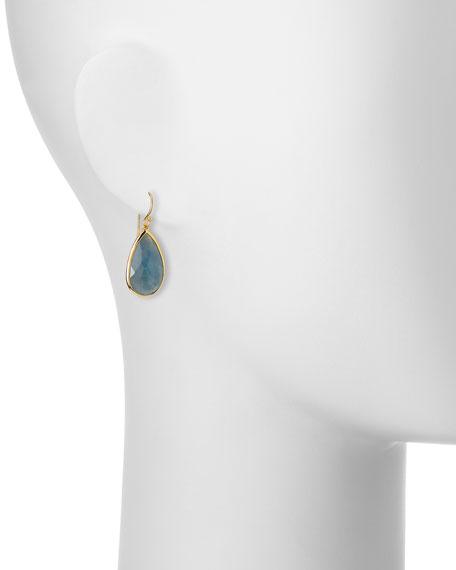 18k Rock Candy Single Teardrop Earrings