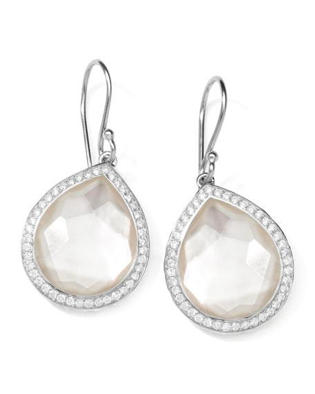 Ippolita Stella Teardrop Earrings in Mother-of-Pearl Doublet with