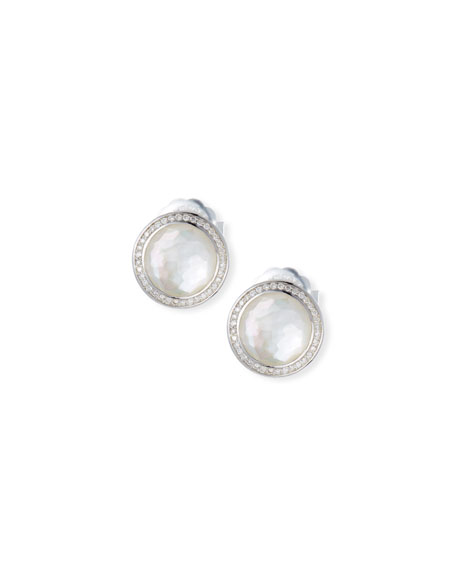 Ippolita Stella Stud Earrings in Mother-of Pearl Doublet
