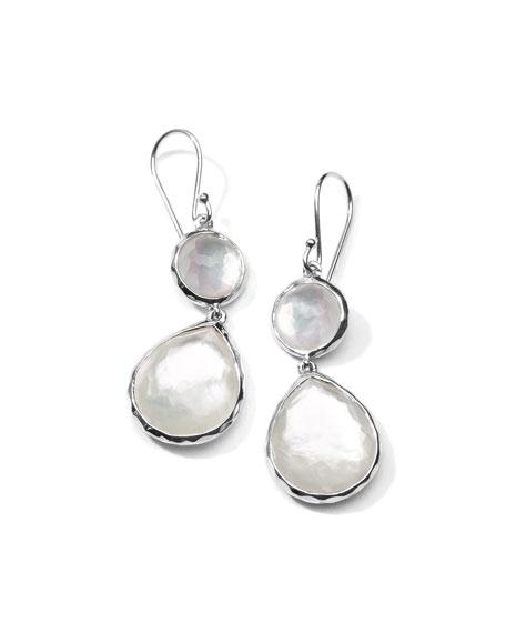 Ippolita Mother-of-Pearl Wonderland Teardrop Earrings in Oyster