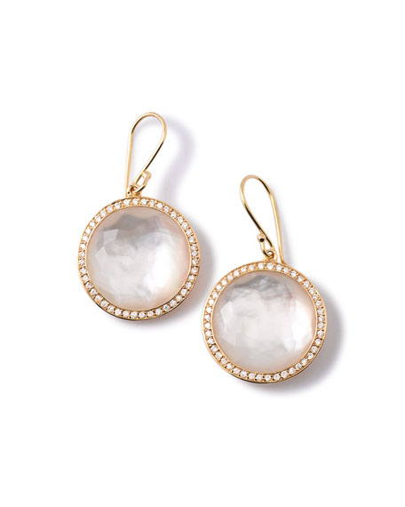 Ippolita Gold Rock Candy Lollipop Diamond Mother-of-Pearl