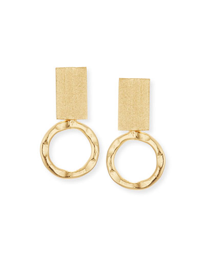 Loop Open Hoop Earrings