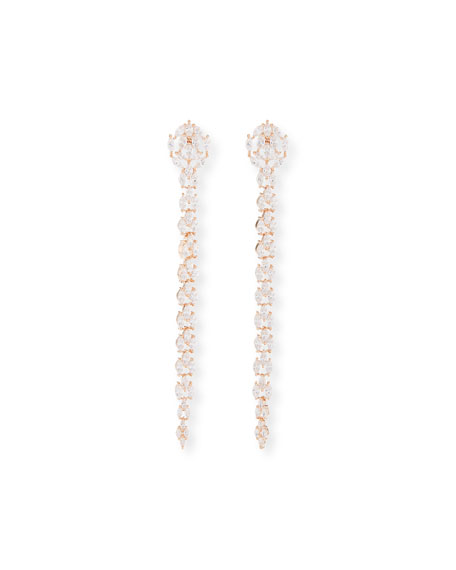 Fallon Monarch Marquis Fishtail Earrings